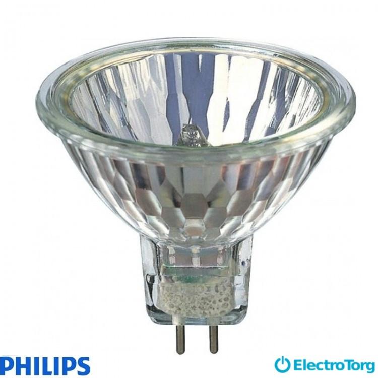 Лампа галогеновая Hal-Dich 2y 50W GU5.3 12V 36D 2BC/10 Philips