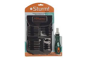 Отвертка с насадками Sturm 1040-08-SS2