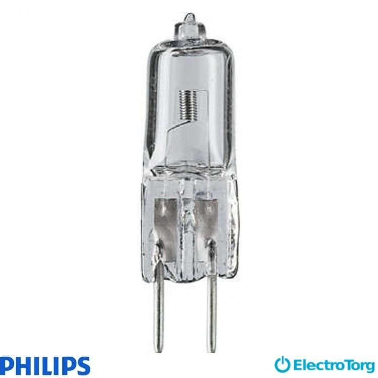 Лампа галогеновая Caps 50W GY6.35 12V CL 2000h 1CT/10X10F Philips