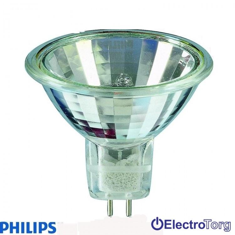 Лампа галогеновая Hal-Dich 2y 20W GU5.3 12V 36D 1CT/10X5F Philips