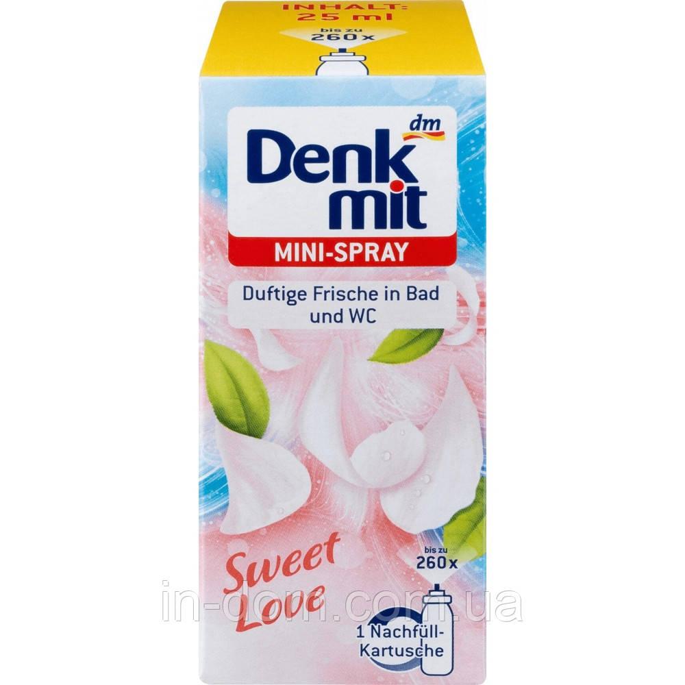 Denkmit mini-spray Sweet Love міні освіжувач повітря запаска Солодка любов 25 мл