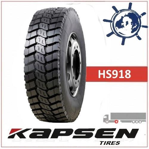 Шины KAPSEN HS918+ 10.00R20 (280R508) 18сл 149/146K (ведуча), грузовые шины на ведущую ось