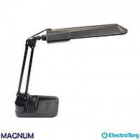 Лампа настольная NL011, G23 11Вт черная с подставкой MAGNUM