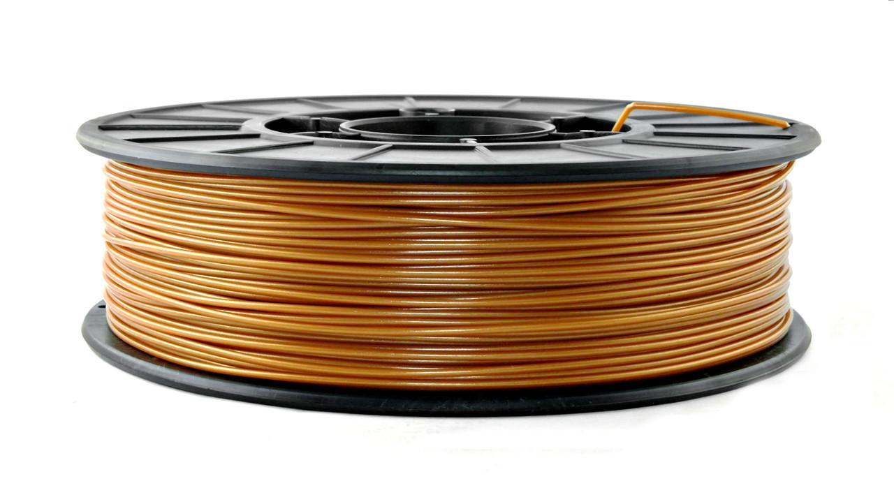 Нить PLA (ПЛА) пластик для 3D печати, Бронзовый (1.75 мм/0.75 кг)