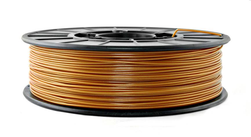 Нить PLA (ПЛА) пластик для 3D печати, Бронзовый (1.75 мм/0.75 кг), фото 2