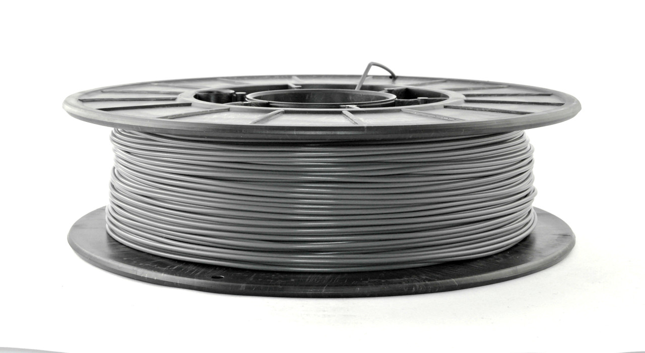 Нить PLA (ПЛА) пластик для 3D печати, Серый (1.75 мм/0.5 кг)