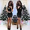 Платье двойка с укороченным пиджаком, фото 2