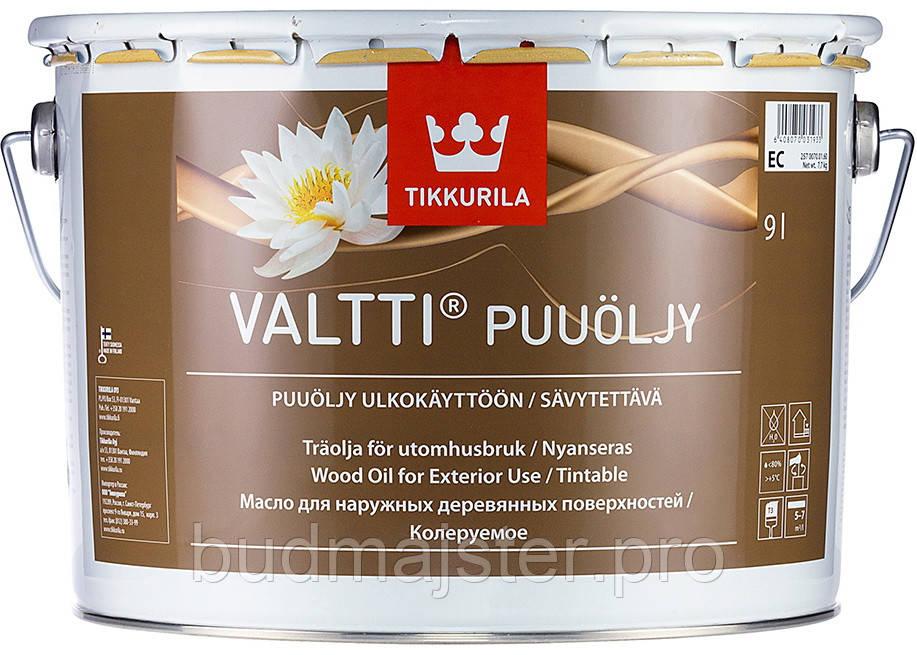 Олія Tikkurila Валті безбарвна ЕС, 9 л