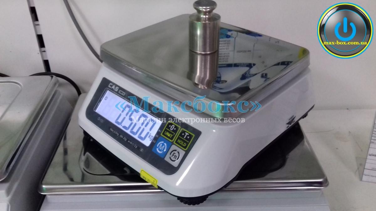 Весы фасовочные CAS SWII до 3, 6, 15 кг