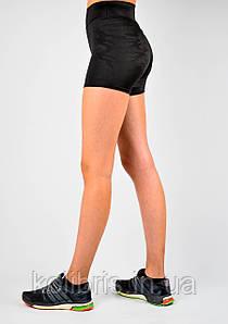 Шорты женские для отдыха и спорта камуфляж черный