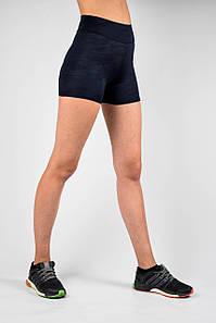 Шорты женские для отдыха и спорта камуфляж синий
