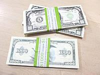 Деньги сувенир 1000 $, доллары США