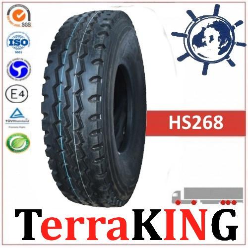 Шины TERRAKING HS268  8.25R20 (240R508) 16сл 139/137K, грузовые шины на Пазик ГАЗ 53