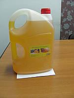 Льняное масло 4 л канистра с воском для пропитки дерева, фото 1