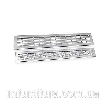 Решетка вентиляционная алюминиевая / 60 х 484 - Gtv (Польша)