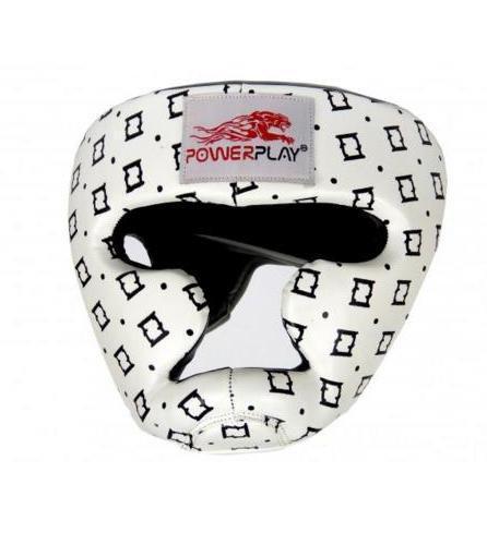 Боксерський шолом тренувальний PowerPlay 3044 Білий L