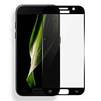 Samsung Galaxy A7 (2017) Colorful Tempered Glass Black Защитное Стекло
