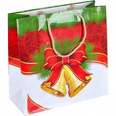 Пакет цветной чашка «Новый год» 16×16×7 см ПЦчМ, фото 2
