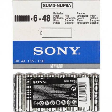 Батарейка Sony R-6 Sum3 AA  4шт       S-200099, фото 2