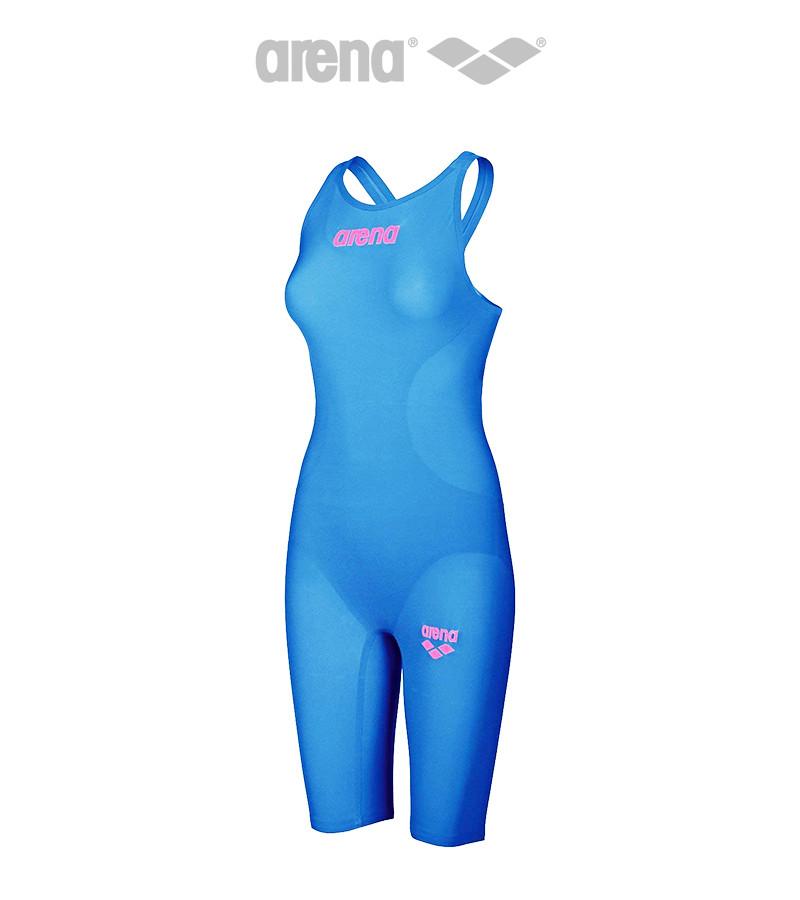 Женский стартовый гидрокостюм Arena Powerskin R-EVO One (Blue Powder/Pink)