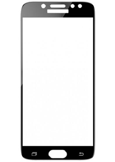 Samsung J730F Galaxy J7 (2017) Colorful Tempered Glass Black Защитное Стекло