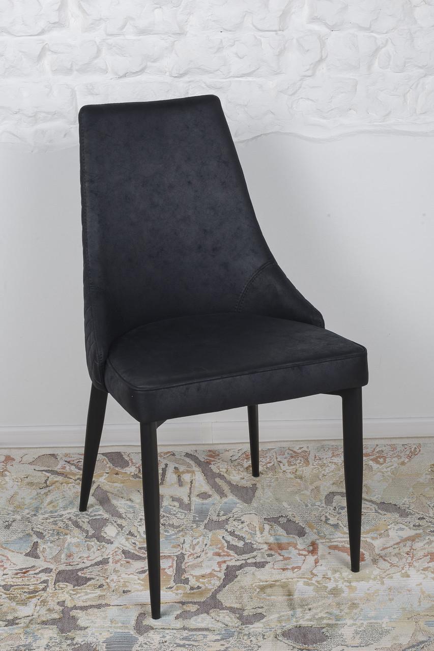 Стілець STUTTGART (Штуттгарт) чорний від Niсolas, тканина