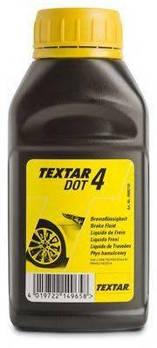 Жидкость тормозная DOT4 (0.25L) TEXTAR 95002100