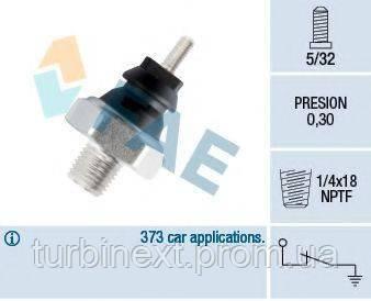 Датчик давления масла Ford Transit 1.6/2.0 85-94 FAE 12220