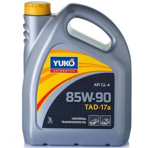 Масло трансмиссионное YUKO TAД-17а (GL-4 SAE 85W-90) SAE 85W-90 канистра 3л