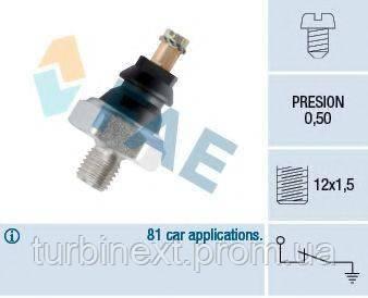 Датчик давления масла MB OM601-602 (M12x1.5) FAE 10200