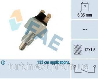 Датчик включения заднего хода BMW 3/5/6/7 -95 (M12x1.5) FAE 40370