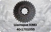 Шестерня 2 и 4 передач КПП ЮМЗ-6, Д-65 40-1701117-А скользящая