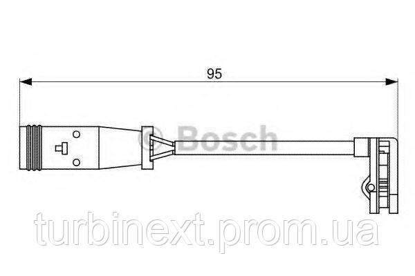 Датчик износа тормозных колодок MB Sprinter/VW Crafter 06- BOSCH 1 987 473 036