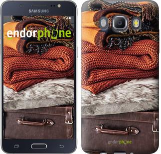 """Чехол на Samsung Galaxy J5 (2016) J510H Чемодан в осень """"4051c-264-2911"""""""