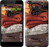 """Чехол на Xiaomi Redmi 4X Чемодан в осень """"4051c-778-2911"""""""