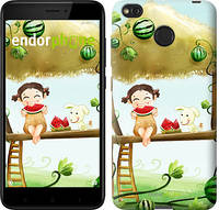 "Чехол на Xiaomi Redmi 4X Девочка с арбузом ""2957c-778-2911"""