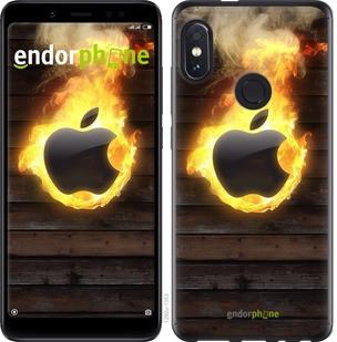 """Чехол на Xiaomi Redmi Note 5 Apple fire """"1292u-1516-2911"""""""
