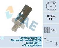 Датчик давления масла VW T5/Caddy 1.6/2.0 95-15 (1.2-1.6 bar) (черный) FAE 12880