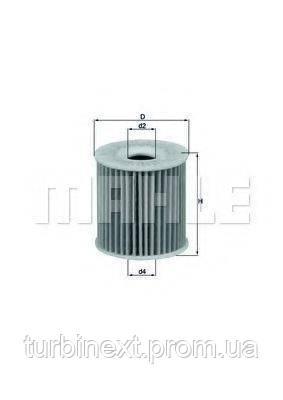 Фильтр масляный Mazda 1.6/2.0 87- KNECHT OX 346D