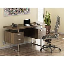 Стол офисный с тумбами L-81 1450*650 Loft design, фото 2