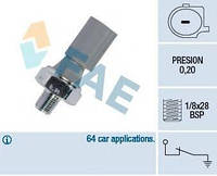 Датчик давления масла Mitsubishi Colt/Galant/L200/Montero 1.1-3.8 V6 02- (0,2 bar) FAE 12830