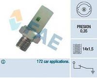 Датчик давления масла Renault Kangoo 1.4/1.9DTi/Trafic 2.0-2.2D 89- (M14x1.5) (0.35 bar) FAE 12370