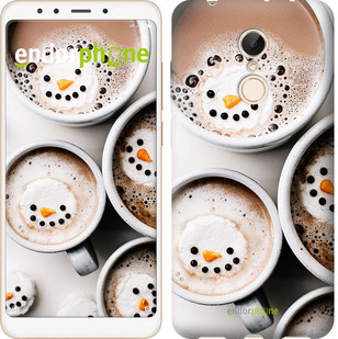 """Чехол на Xiaomi Redmi 5 Новогоднее какао """"4109c-1350-2911"""""""