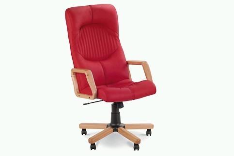 Кресло кожаное для руководителя «Germes EXTRA» SP