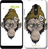 """Чехол на Xiaomi Redmi 5 Plus Обезьяна в шапке """"4183c-1347-2911"""""""
