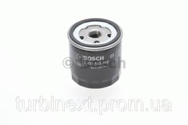 Фільтр масляний VW Caddy II 1.4/1.6 i / Golf IV/V/Seat BOSCH 0 451 103 318