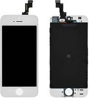 Дисплей с тачскрином Apple iPhone 5S белый High Copy