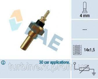 Датчик температури охолоджуючої рідини MB OM602 2.2/2.5 D 85-99 FAE 32330