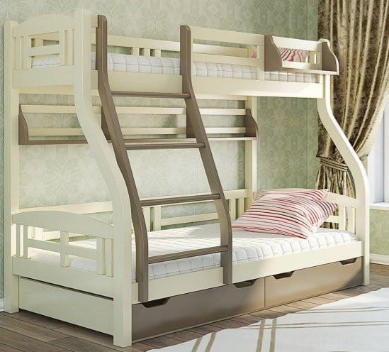 Кровать двухъярусная с ящиками Светлана