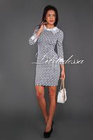 Платье с ажурным воротником, фото 1